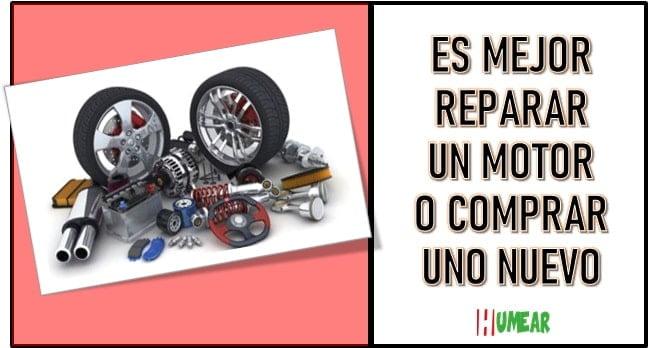 Cuanto cuesta reparar un motor de carro